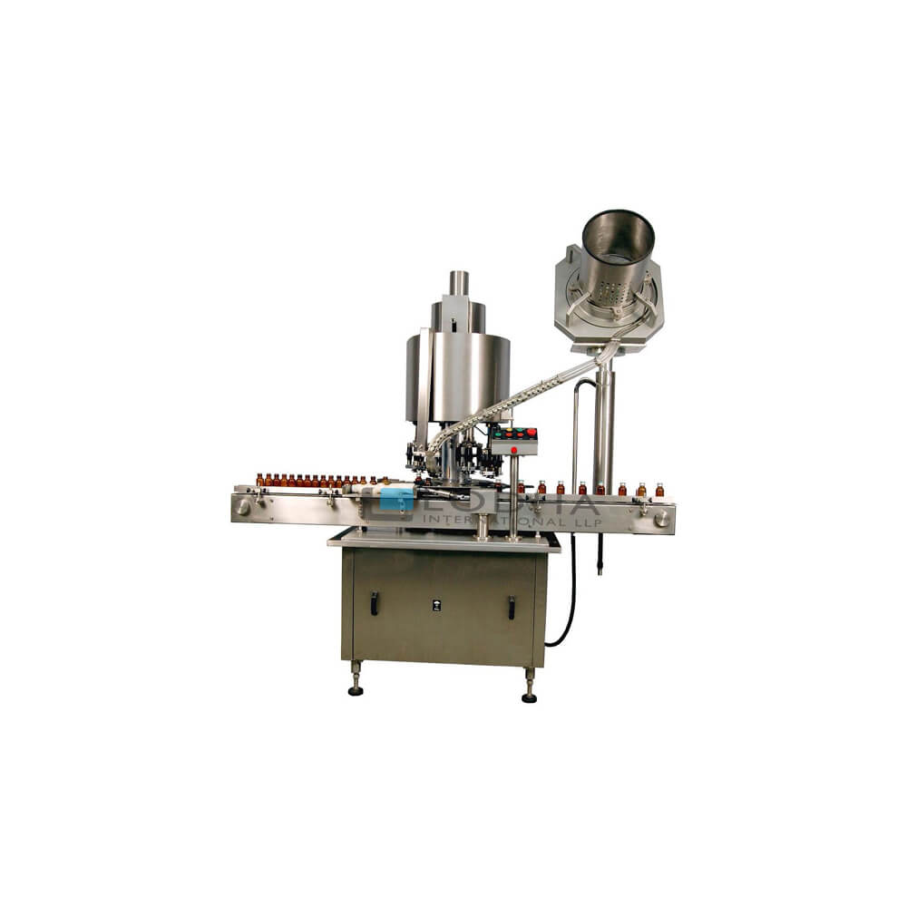 Eight Head Rotary Bottle ROPP Capping Machine for Glass