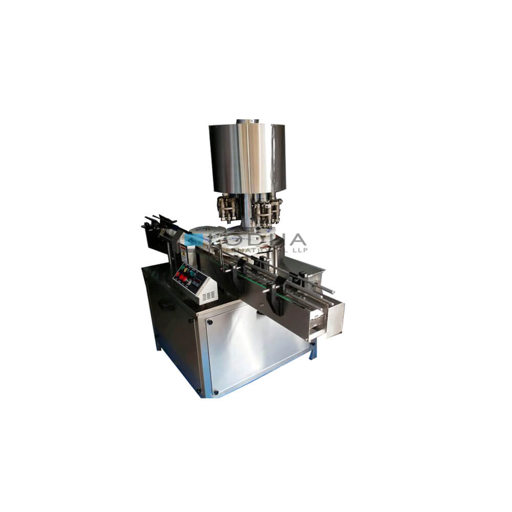 Automatic Four Head Bottle Screw Capping Machine
