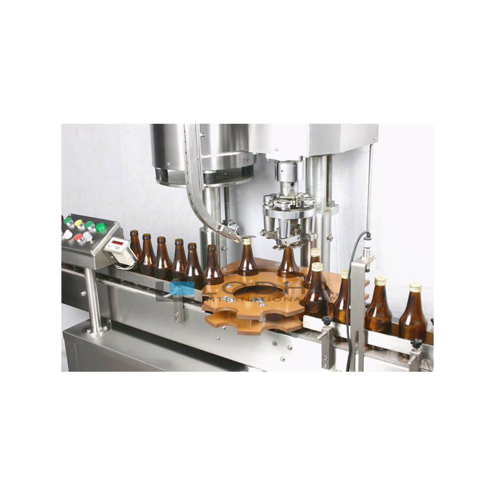 Automatic Single Head Bottle Screw Capping Machine