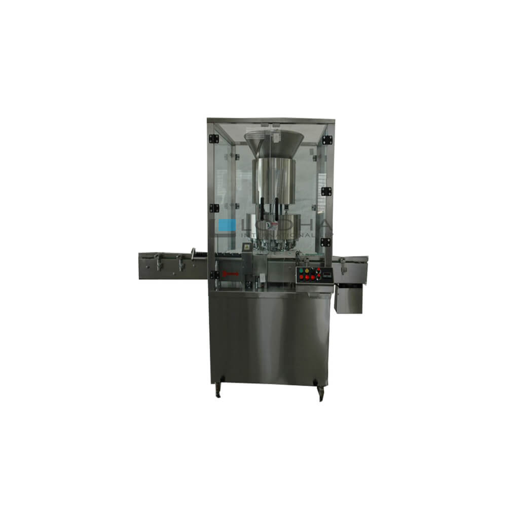 Six Head Rotary Vial Capping Machine