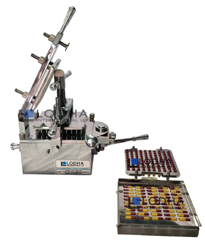 100 Holes Capsule Filling Machine with Orienter