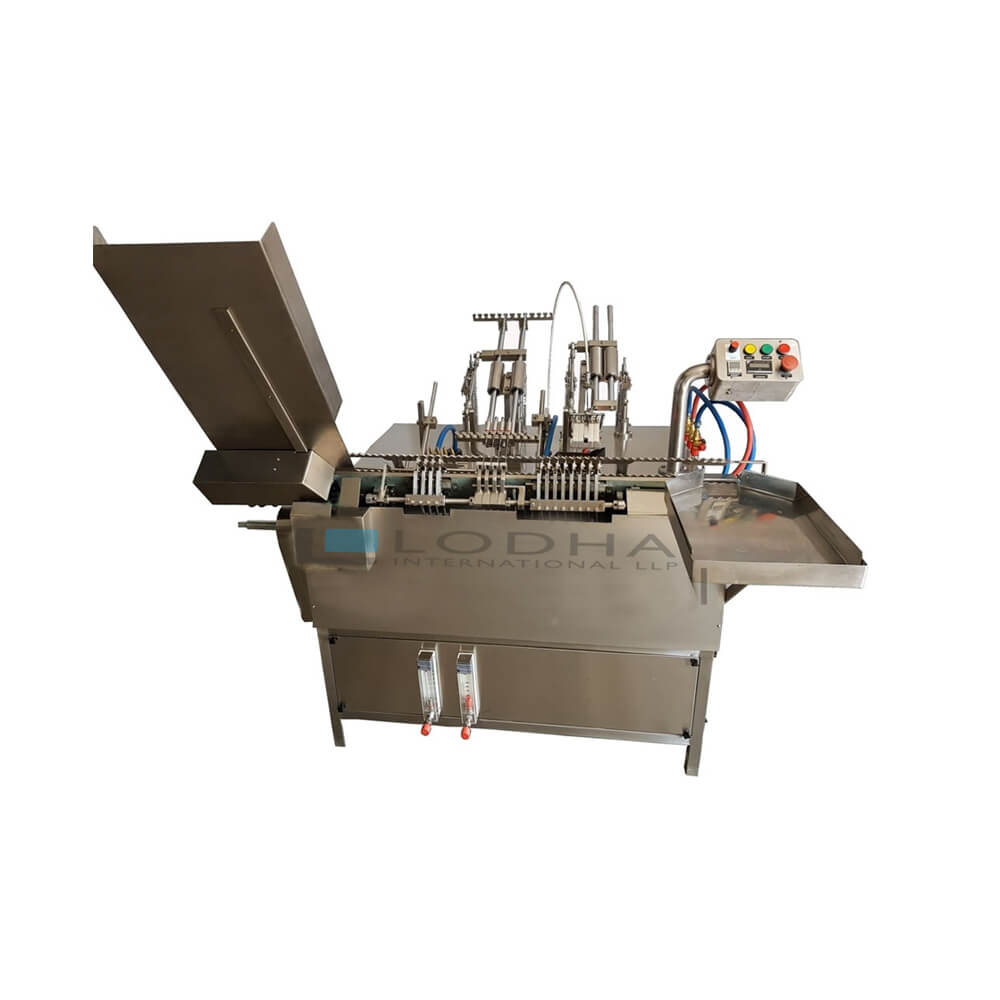 Automatic Ampoule Filling and Sealing Machine - Ampoule Filling Machine