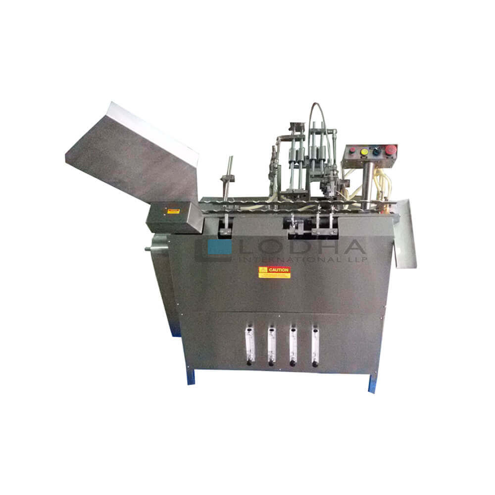 Closed Ampoule Filler and Sealer Machine