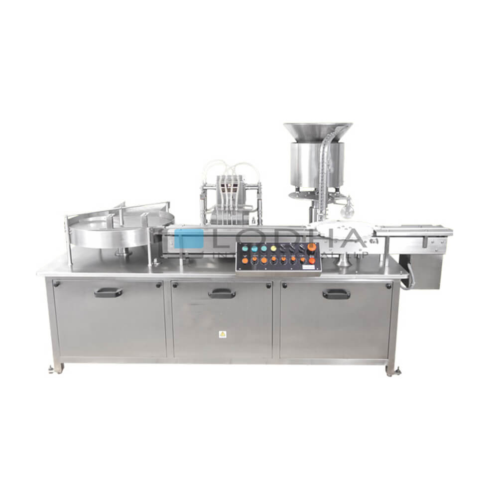 Injectable Liquid Filling and Rubber Stoppering Machine