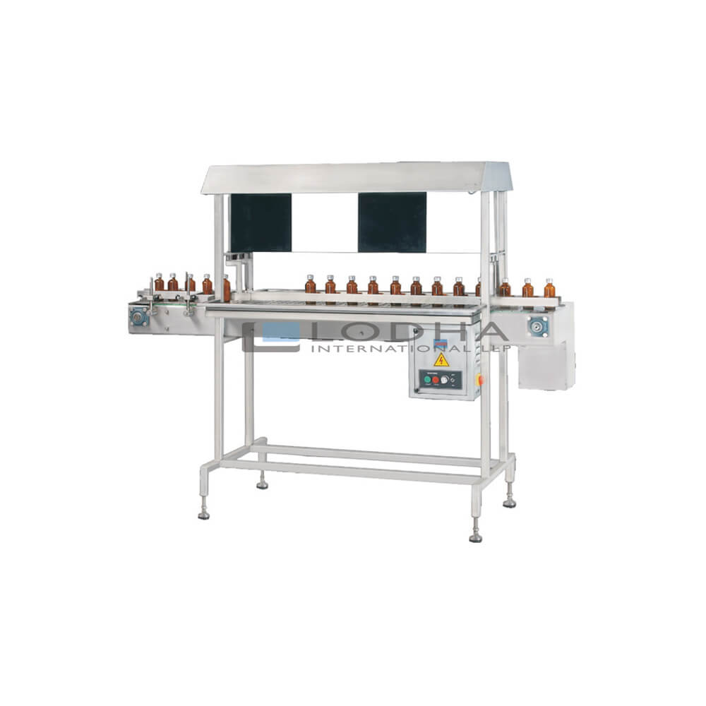 Online Visual Bottle & Vial Inspection Machine