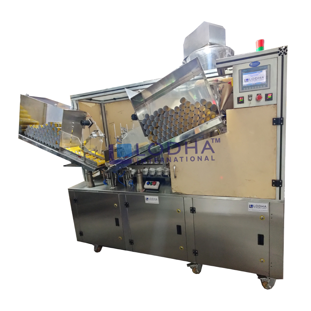 Linear Tube Filling & Closing Machine