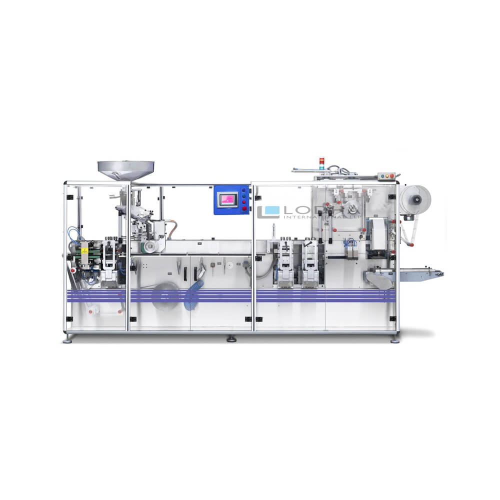 High Speed Blister Packing Machine for Cold Forming & Thermo Forming Blister Packs