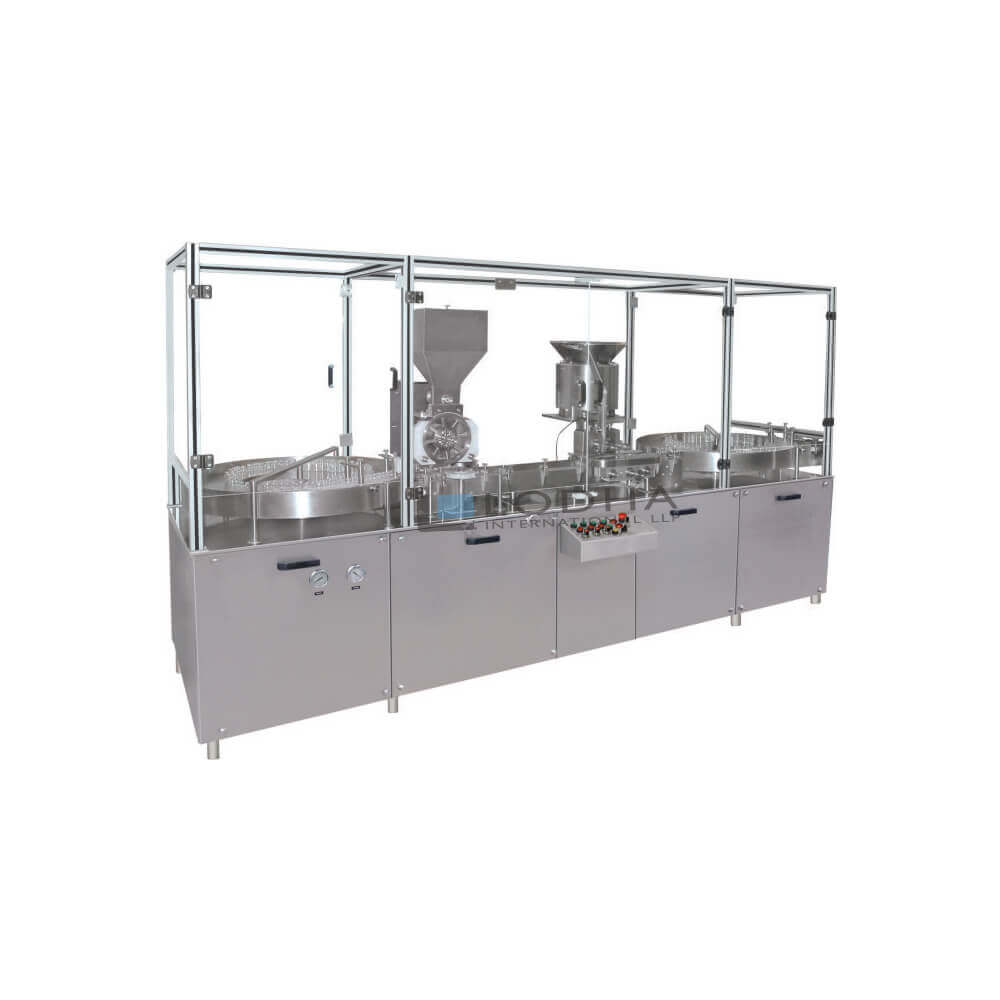 Automatic Vial Powder Filling Machine - Vial Filler