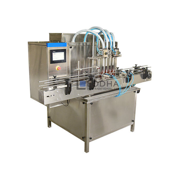 Automatic Servo Based Linear Piston Filling Machine