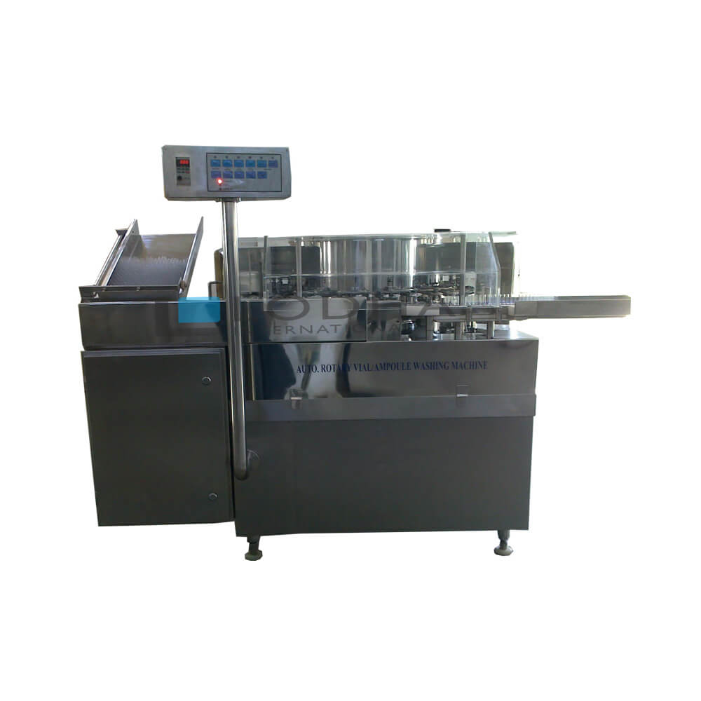 High Speed Rotary Ampoule Washing Machine