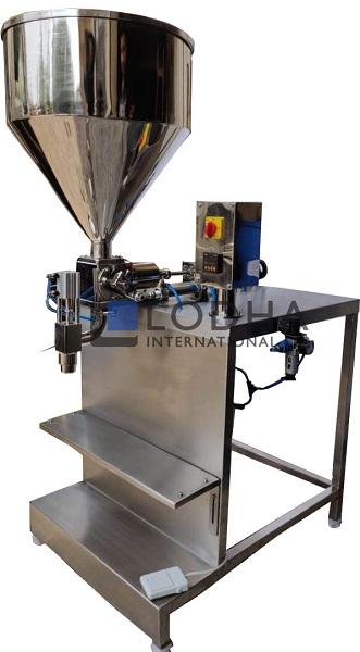 Semi Automatic Single Head Piston Filling Machine