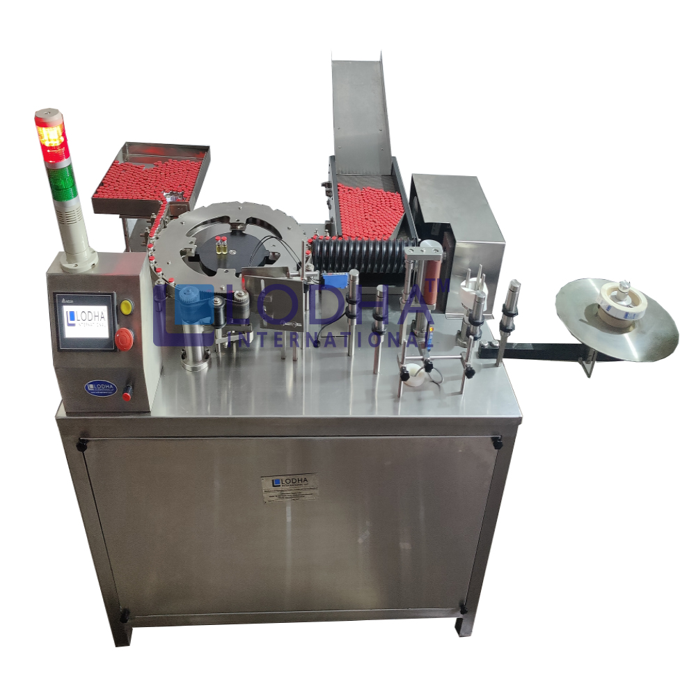 Automatic Ampoule Sticker Labelling Machine