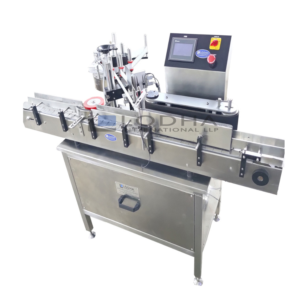 Automatic Single Side Flat Bottle Sticker Labeling Machine