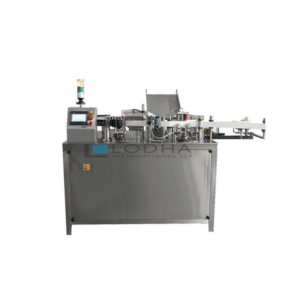 High Speed Ampoule Vial Sticker Labeling Machine
