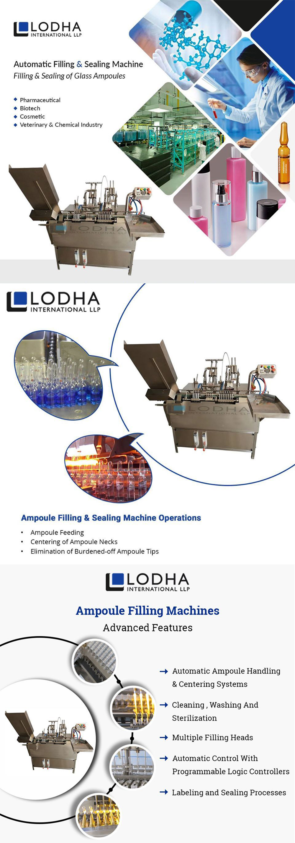 Servo-based Ampoule Filling Machine Market in the USA and Europe